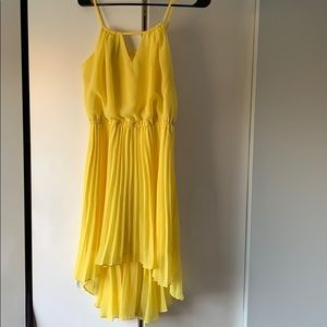 Yellow Bebe dress